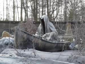 farryman charon guardians of time manfred kielnhofer ghost timekeeper faceless statue